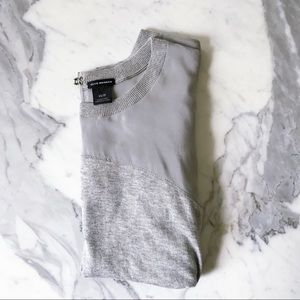 Club Monaco sweater with sheer sleeves